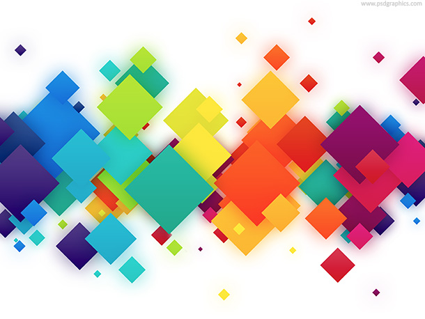 colorful-squares-background